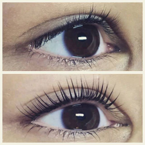how to take off mascara with a lash lift